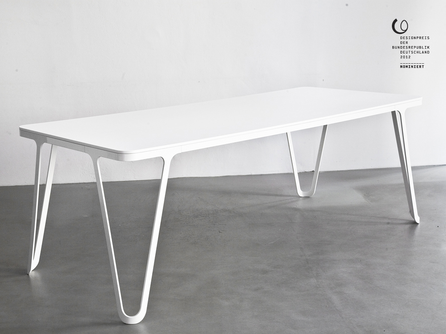 Sebastian Scherer -> Aluminium Table